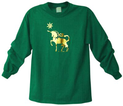 Unicorn Long Sleeved TShirt