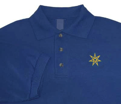 Seven Pointed Star Polo Shirt