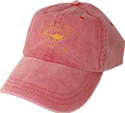 Baseball Cap with Embroidered Symbol